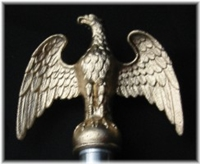 Stainless Steel Flagpole Eagle
