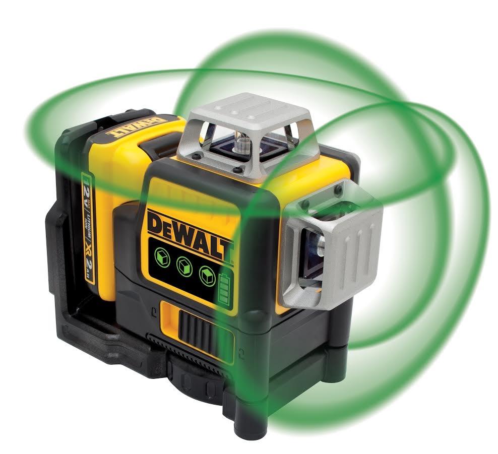 3 Line 360 Green Line Laser 12v Max Dewalt