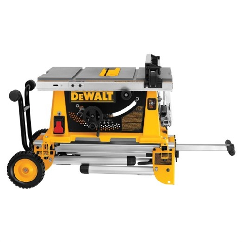Dewalt 10 Inch Table Saw W Rolling Stand