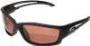 Edge Eyewear Kazbek TSK215 Polarized Copper Driving Lens Safety Glasses