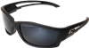 Edge Eyewear Kazbek TSK21-G15-7 Polarized Silver G-15 Lens Safety Glasses