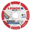 "Lenox MetalMax Thin 4-1/2"" Diamond Metal Cutting Wheel"