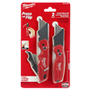 "Milwaukee 2 Pack FASTBACKâ""¢ Flip Utility Knife Set #48-22-1503"