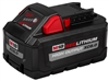 Battery, Milwaukee M18 - 8.0 aH High Output Lithium