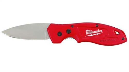 "Milwaukee FASTBACKâ""¢ Smooth Folding Pocket Knife"