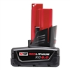 Milwaukee 6.0AH XC High Capacity Battery, M12