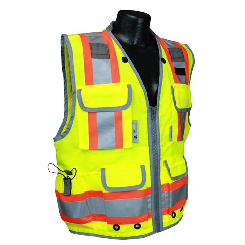 Class II Lime Engineer Vest- Medium