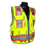 Class II Lime Engineer Vest- X-Large