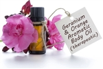 Geranium Orange Aromatic Body Oil