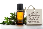 Ginger & Juniper Aromatic Body Oil