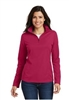 Port Authority Ladies Pinpoint Mesh 1/2 Zip Pullover