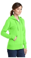 Port & Company Zip Hoodie - Ladies