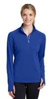 Sport Tek Textured 1/4 Zip Pullover - Ladies