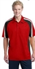 Sport-Tek Tricolor Micropique Sport-Wick Polo - Men's