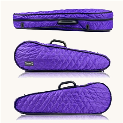 Bam Hoodie Cover for Contoured Violin Case - Purple