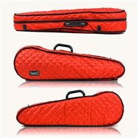 Bam Hoodie Cover for Contoured Violin Case - Red