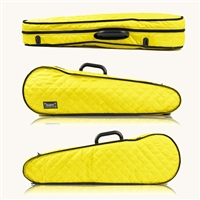 Bam Hoodie Cover for Contoured Violin Case - Yellow