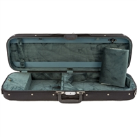 Bobelock 1002 Non-Suspension Oblong Violin Case - Velour