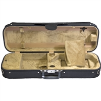 Bobelock 1002 Oblong Suspension Violin Case - Velour