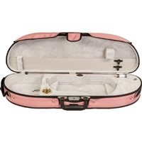 Bobelock 1047P Puffy Half Moon Violin Case