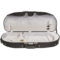 Bobelock 2048 Half Moon Viola Case - Velour