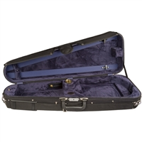 Bobelock 2028 Arrow Viola Case - Velour