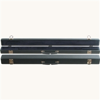 Bobelock Wooden Double Bow Case - Blue