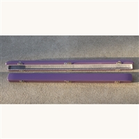 Bobelock Fiberglass Single Bow Case - Purple