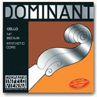 Thomastik Dominant Cello String Set - Medium Gauge - 4/4
