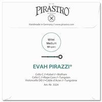 Pirastro Evah Pirazzi Cello C String - Medium/Mittel Gauge - 4/4
