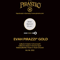 Pirastro Evah Pirazzi Gold Cello D String
