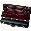 Jaeger Prestige Oblong Violin Case - Black Leather