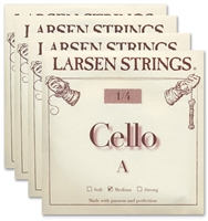 Larsen (Original) Cello String Set - 1/4 Size