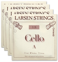 Larsen (Original) Cello String Set - 1/8 Size