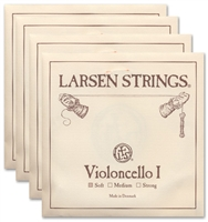 Larsen (Original) Cello String Set - 4/4 - Light/Soft Gauge