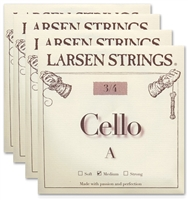 Larsen (Original) Cello String Set - 3/4 Size