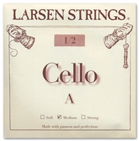 Larsen (Original) Cello A String - 1/2 Size