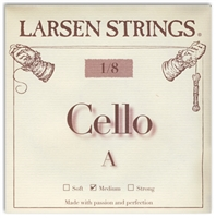 Larsen (Original) Cello A String - 1/8 Size
