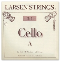 Larsen (Original) Cello A String - 3/4 Size