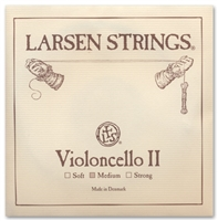Larsen (Original) Cello D String - 4/4 - Medium Gauge