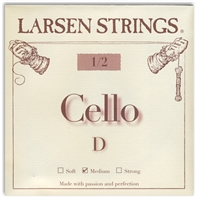 Larsen (Original) Cello D String - 1/2 Size