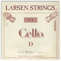 Larsen (Original) Cello D String - 1/4 Size