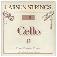 Larsen (Original) Cello D String - 1/8 Size