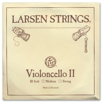 Larsen (Original) Cello D String - 4/4 - Light/Soft Gauge
