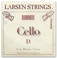 Larsen (Original) Cello D String - 3/4 Size
