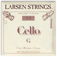 Larsen (Original) Cello G String - 1/4 Size