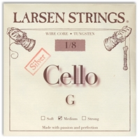 Larsen (Original) Cello G String - 1/8 Size