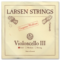 Larsen (Original) Cello G String - 4/4 - Light/Soft Gauge