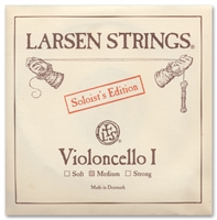 Larsen Soloist Cello A String - Medium Gauge