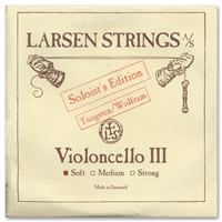 Larsen Soloist Cello G String - Light/Soft Gauge